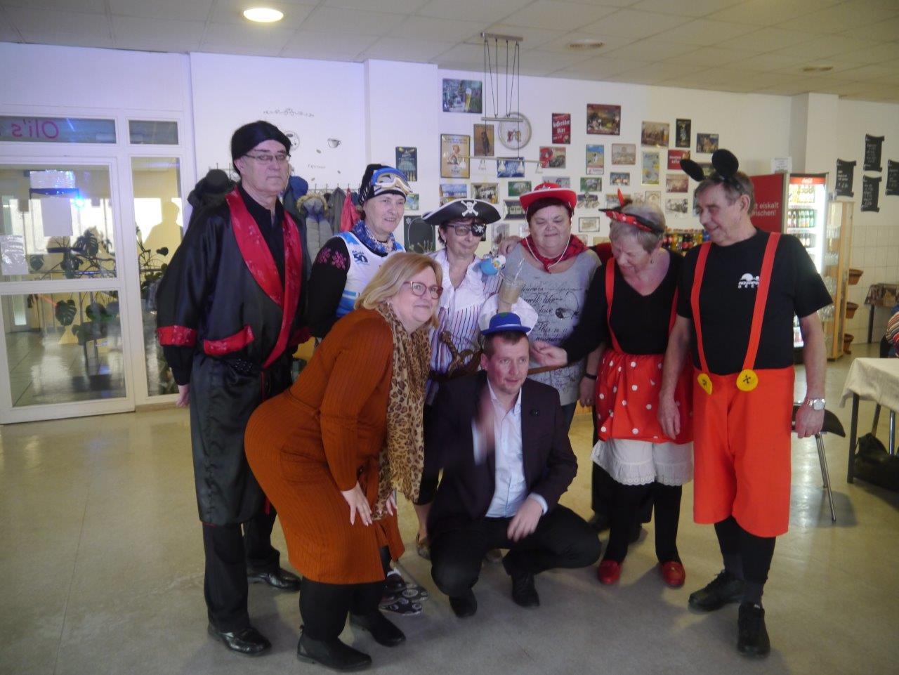 Rosenmontag mit Gästen aus Benešov nad Ploučnicí