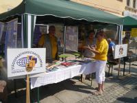 Vereinsmeile - Stand des Städtepartnerschaftsverein Heidenau e.V.